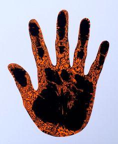 299. Doodled Handprint