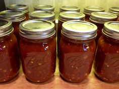 canning salsa without using a canner!