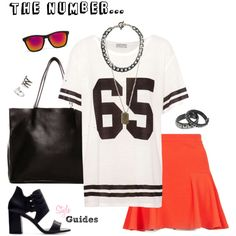 Number T-shirt by style-guides.blogspot via Polyvore