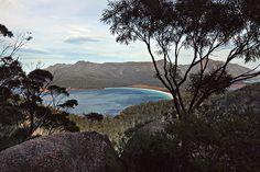 freycinet, tasmania via line x shape x colour