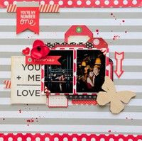 A Project by geekgalz from our Scrapbooking Gallery originally submitted 05/20/13 at 11:25 AM