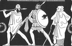 Odysseus, Agamemnon and Thersites