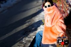 Irene Kim during Mercedes Benz New York Fashion Week Fall Winter 2015.
