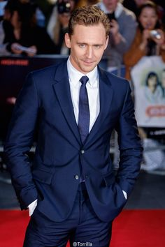 Tom Hiddleston @ a gala screening of 'High-Rise' during the BFI London Film Festival at Odeon Leicester Square, London 9.10.2015 From http://www.weibo.com/torilla