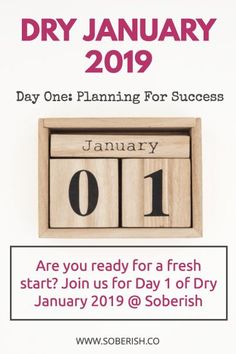 Today is the day! You told yourself you were doing Dry January and now here you are, Day One. Anxiety Tips, Anxiety Help, January Quotes, Behavior Reflection, Sober Quotes, Getting Sober, Dry January, Essential Oils For Anxiety