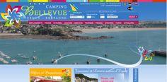 Sites et Paysages Camping Bellevue à Erquy en Bretagne Camping Nature, Promotion, France, In The Heart, Campsite, Brittany, Tourism, Landscapes, Hobbies
