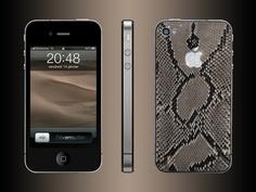 FL Luxury Product iPhone 4 python natural Python, Iphone 4, Luxury, Natural, Leather, Nature, Au Natural