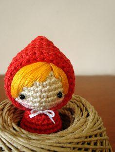 Amigurumi Red Riding Hood