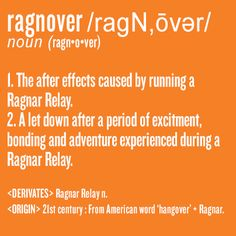 16 Things Only Ragnarians Know - BLOGNAR - Looking forward to experiencing this in October!