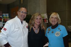 Fun event with Jay Qualls and Stella Parton at The Renaissance Center Artisan Food Show .