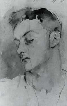 Albert de Belleroche by John Singer Sargent (1882).