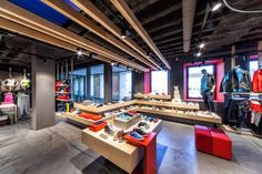 store lay-out, pinned by Ton van der Veer
