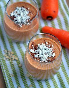 Vegan Carrot Cake Smoothie recipe