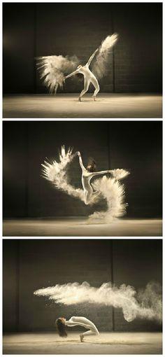 Vibrant Dancer Photos by Jeffrey Vanhoutte #Comercial, #Dancer, #Photography