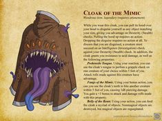 Dungeons And Dragons Classes, Dungeons And Dragons Homebrew, Dungeons And Dragons Ranger, Character Concept, Character Art, Magic Armor, Dnd Stats, Dnd Stories, The Mimic