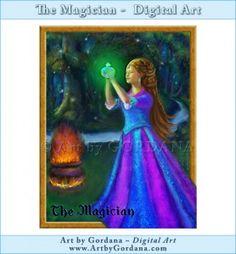Magician - Art by Gordana Digital Art Gallery