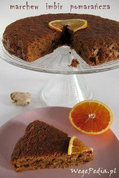 Real Food Recipes, Cake Recipes, Vegan Recipes, Cooking Recipes, Vegan Food, Wasc Cake Recipe, Polish Recipes, Polish Food, Vegan Cake