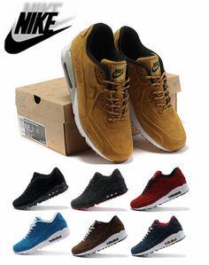 Encontrar Más Zapatillas de Running Información acerca de Nike Air Max 90 hombres Vt zapatos corrientes, Sport zapatos atléticos, 7 colores, tamaño : 40 46, alta calidad Zapatillas de Running de NikeSport Factory Store en Aliexpress.com