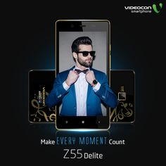 ‪#‎Videocon‬ Z55 Delite smartphone, the smartphone for those who believe in making every moment count. Explore it here - http://www.videoconmobiles.com/z55delite
