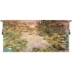 Charlotte Home Furnishings Monets Style Without Border Tapestry