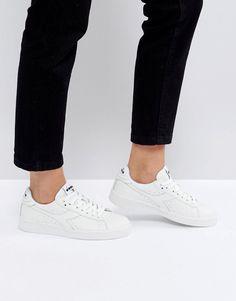 Diadora Game Low Sneakers In White - White