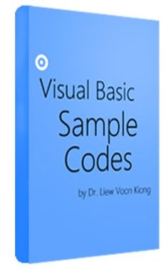 30 best computer programming vb images on pinterest computer visual basic sample code pages 305 maker illustrator liew yi all the examples are explained in great details using easy to understand language and fandeluxe Images