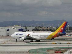 Air Pacific Fiji - 747 - 400 at LAX