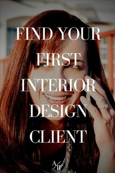 If you're looking to find your first interior design client or just plain old need some new clients because you skipped on marketing your design business while you worked on projects I've got tips for you.