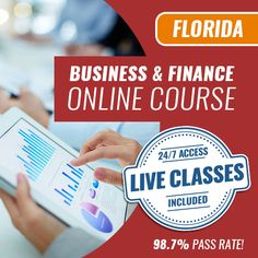 Florida Business and Finance Exam - Online Exam Prep Course [Construction Contractors] - Add Instructor-Led Virtual Classes [+$300]