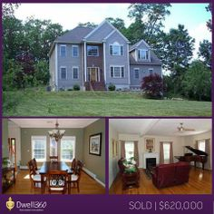 Essie Murphy found her client this beautiful Colonial with an open floor plan and large backyard. Other features included two fireplaces, expansive patio, and over-sized two car garage. We wish them much happiness in their new home!