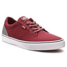 Vans Winston DX Men's Two-Tone Skate Shoes, Med Brown