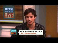 Ian Somerhalder´s love for `Vampire Diaries´ Fans