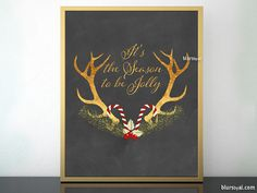 """20 Christmas printables for 5 USD - Christmas Joy Vol 2 - BlursbyaiShop Celebrates Second Anniversary  What's inluded in this pack?  ★ 20 different printables (instant downloads) ★ All of them are new designs that are shown in the pictures of this listing. ★ All of them in 8x10"""" and 16x20"""" (You can print the 16x20"""" file in 11x14"""" if needed, missing just a bit on both sides) ★ JPG and PDF files"""