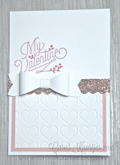 Stampin 'Up!  notecards basket, Bloomin 'Love, Valentine, Valentine, set valentines, berry basket, bow builder punch, punch, Stampin' Up!  products are available through carooskaartjes@hotmail.nl