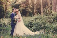 Marie Anson Photography, Bluebells, bride and groom, spring wedding, Whirlowbrook Hall, Sheffield Wedding