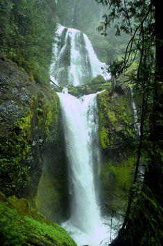 Falls Creek Falls in Carson, Washington