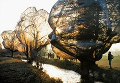 Christo and Jeanne-Claude- Wrapped Trees