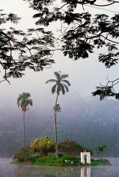 In Kandy. Sri Lanka.