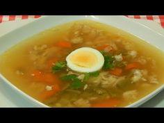 Recetas de cocina con sabor tradicional: Receta fácil de sopa de pollo