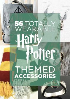 56 Totally Wearable Harry Potter-Themed Accessories :D :D