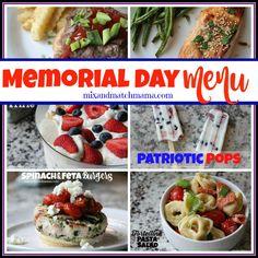 Memorial Day Menu #m