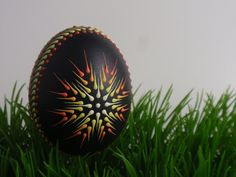 Items similar to Chicken Egg Pysanka Ornament, Wax Embossed Pysanka, Drop Pull Pysanky on Etsy Funny Eggs, Polish Easter, Easter Egg Designs, Egg Art, Chicken Eggs, Barbie Furniture, White Gift Boxes, Egg Decorating, Stone Painting