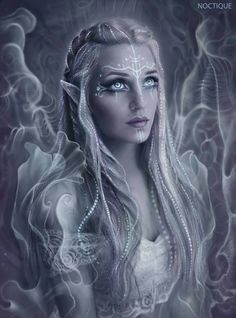 (Not my art) Fantasy Portraits, Character Portraits, Fantasy Artwork, Character Art, Cg Artwork, Weiblicher Elf, Elf Art, Female Elf, Witches