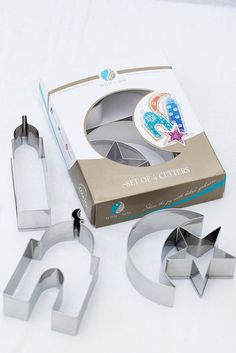 Islamic Shape Cookie Cutter Gift Set. Muslim Cookie cutters. Eid Cookie cutter. Eid and Ramadan gift.