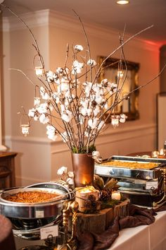 #gingerlilyevents.com atlanta florist #Rustic Wedding Flowers and Decor #hanging votives #photography Frank Gibson