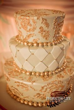Three tier jester cake