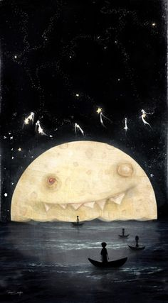 Voyage to the Stars by Odessa11 - I know, it's kind of creepy, but I still like it.  A lot.