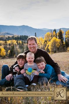 Outdoor Fall Family Pictures father and son Photos photography by Allison Ragsdale Photography Durango Co