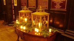 Lanterns in the Hallway