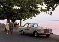 Mercedes-Benz 250 SE (W 108), marketing photo taken in 1966.